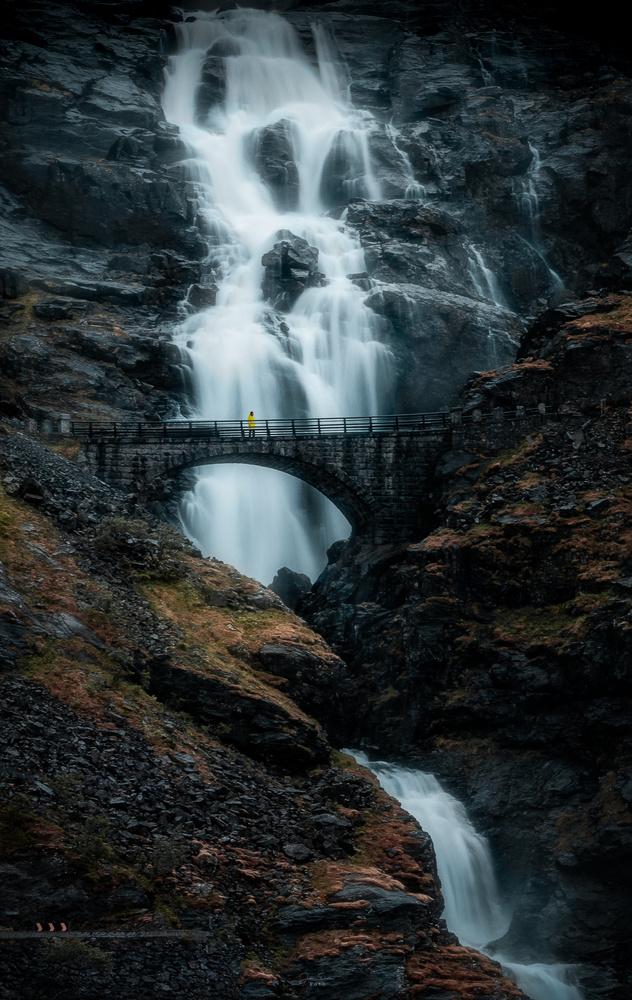 Trollstigen in Norway by Jan Eide