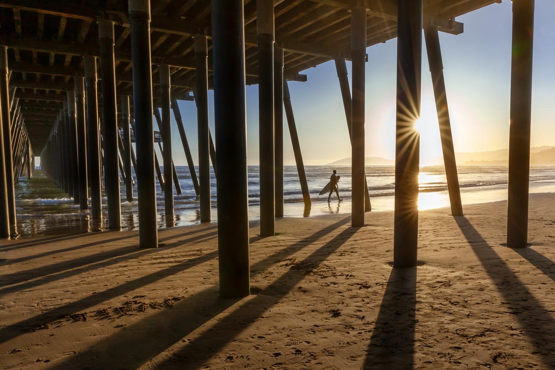 Sunset Surf by David Haeberle