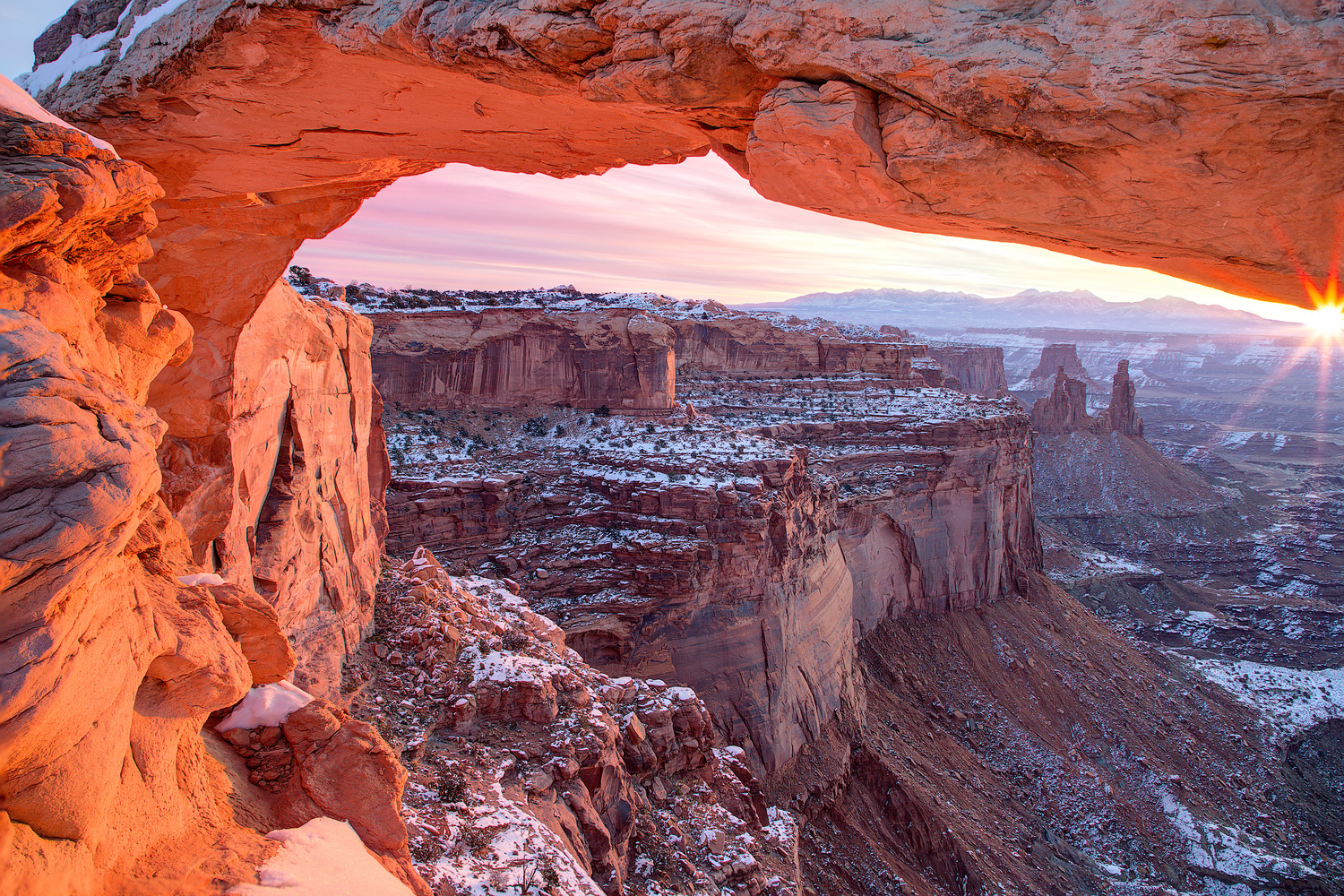 Mesa Arch at 4 Degrees by William Lipscomb