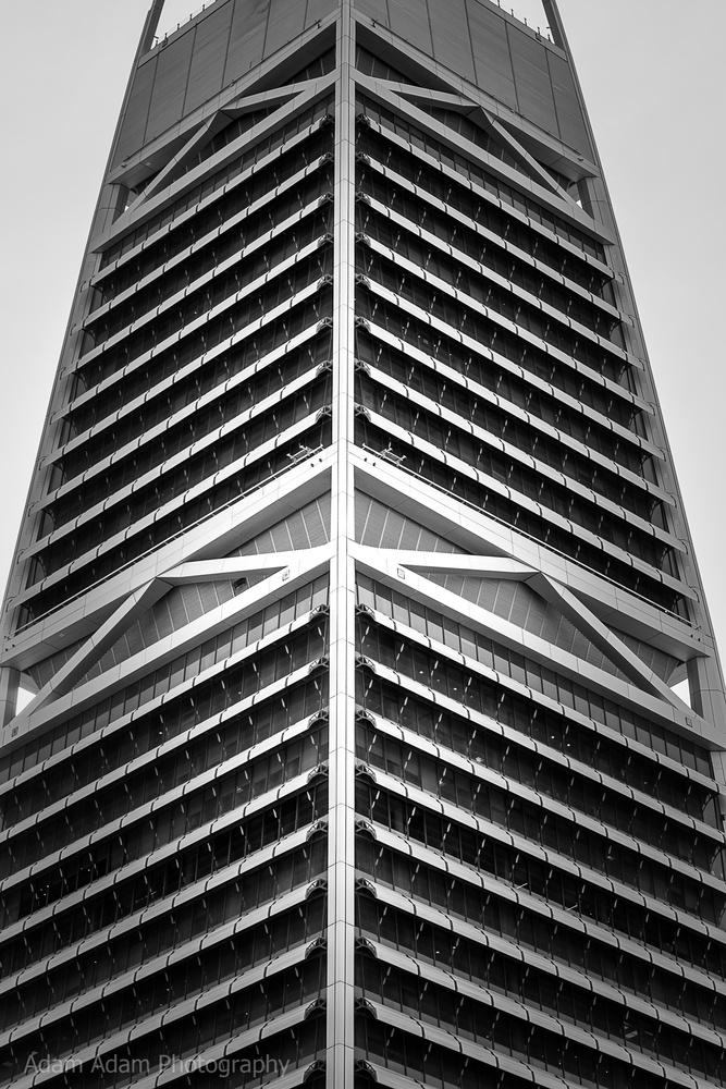 Al Faisaliah tower in Riyadh, Saudi Arabia by Adam Adam