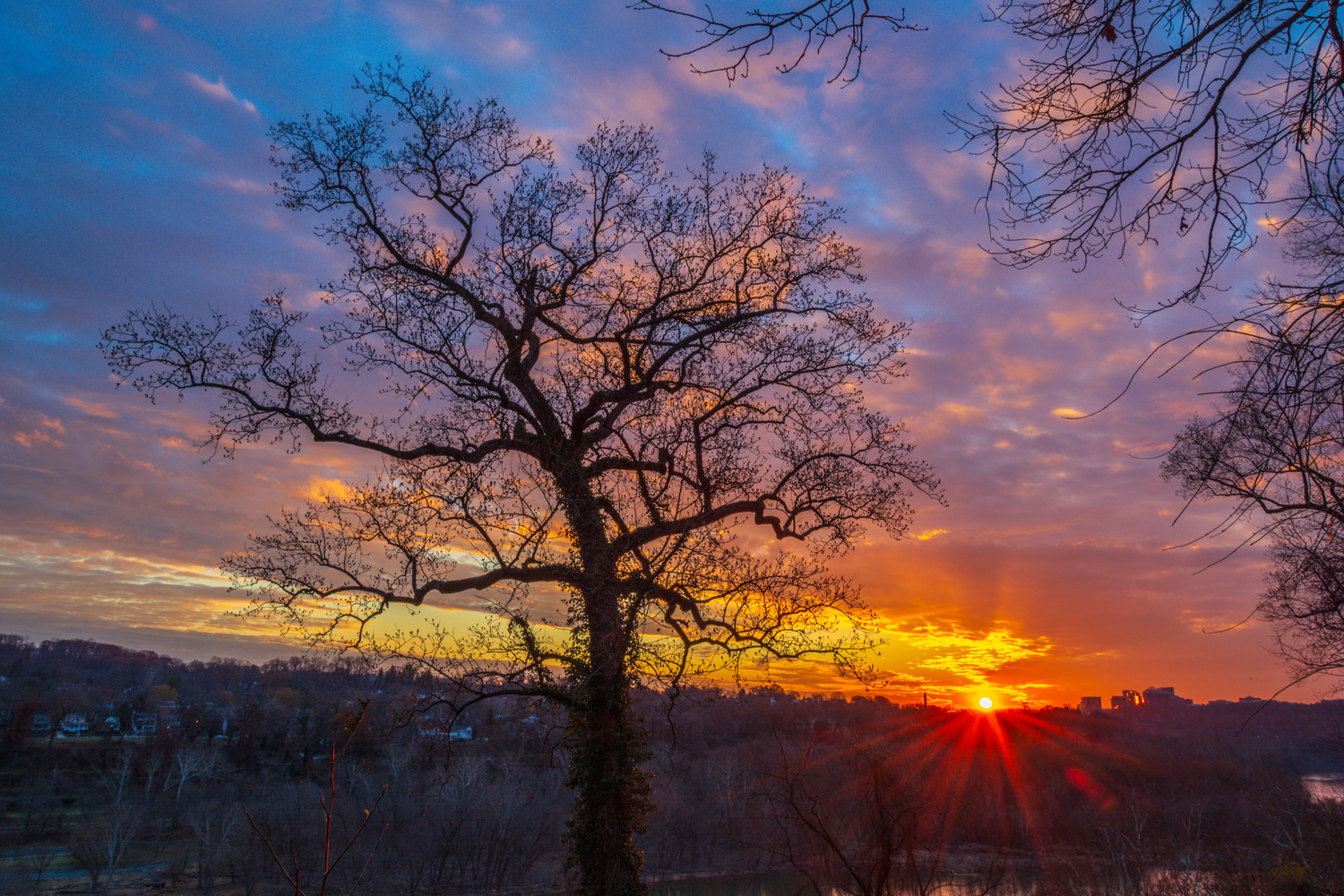 DC Sunrise by Nate Pool