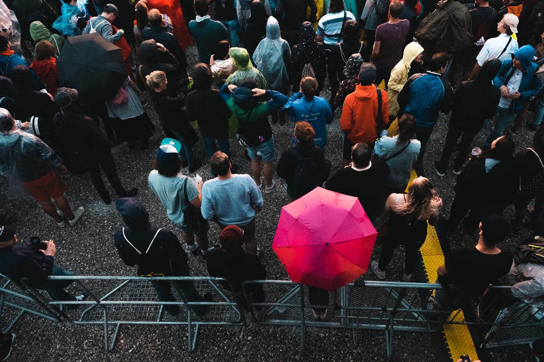 Crowd MODULAR Festival by Kilian Seiler