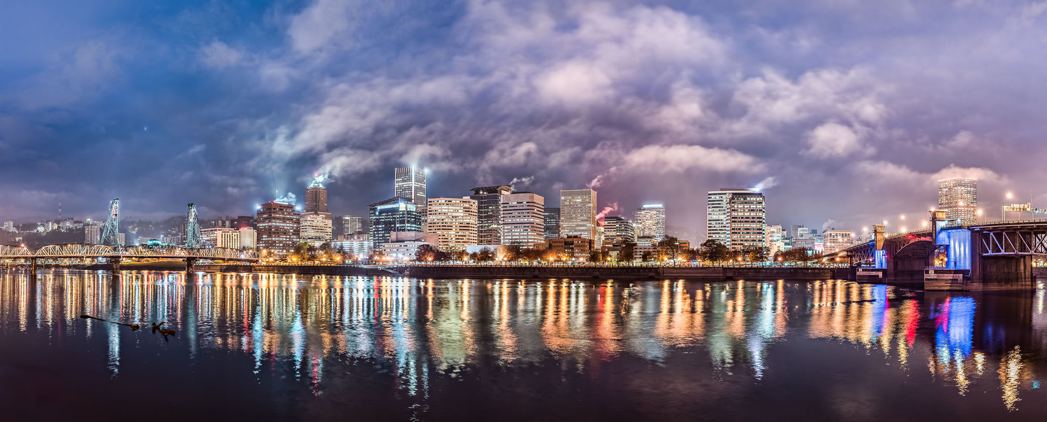 PDX Bluehour (pano) by Hudson Henry