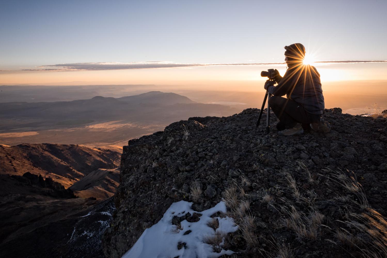 Steens Mountain Sunrise by Hudson Henry