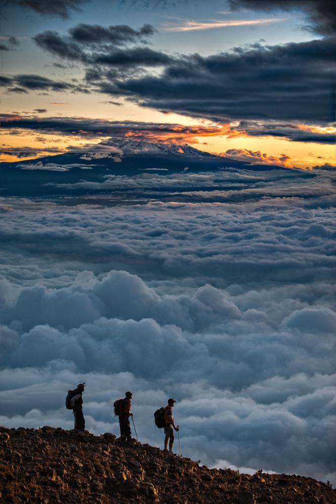 Kilimanjaro from Meru by Hudson Henry