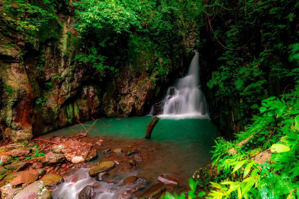 Mambukal Falls No 3 by Ken Dunlop