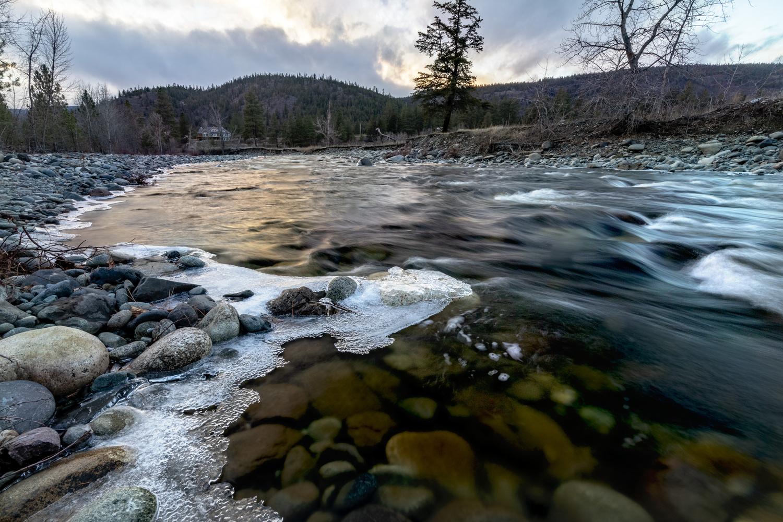 Nicola River by Ken Dunlop