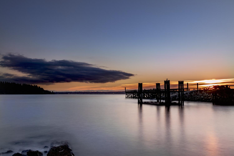 English Bay by Ken Dunlop