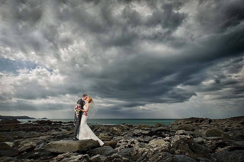 Atlantic Hotel Wedding  1 Wedding Photographer Cornwall  by Paul Keppel