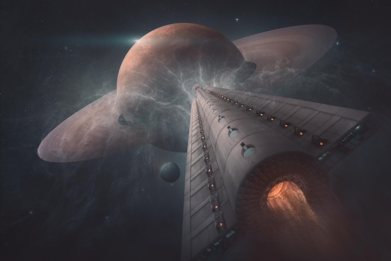Space exploration by Radisa Zivkovic