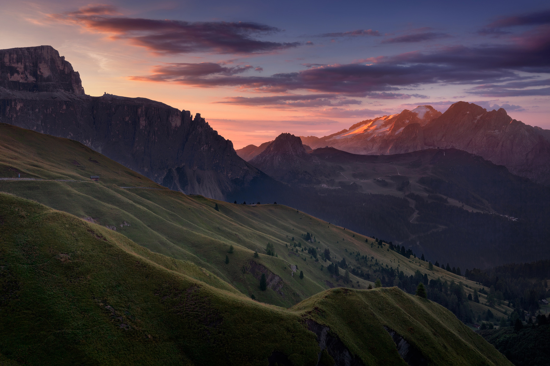 Marmolada sunrise by Radisa Zivkovic