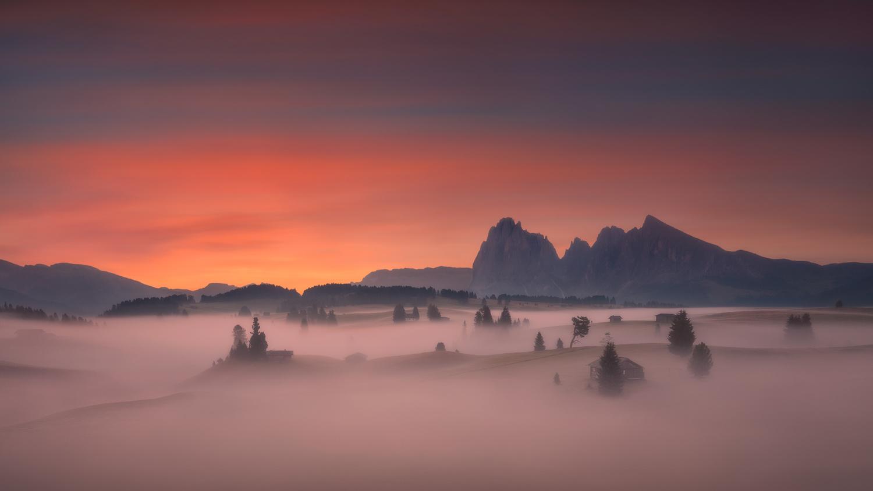 Hobbits valley by Radisa Zivkovic