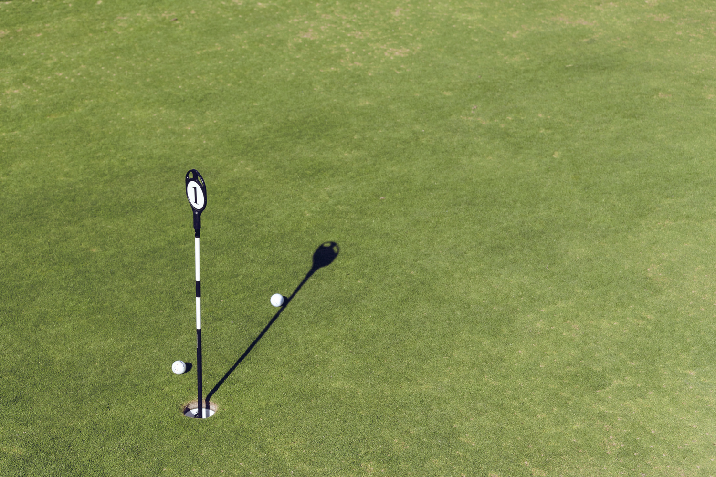 Golf Hole by Stephen Simons