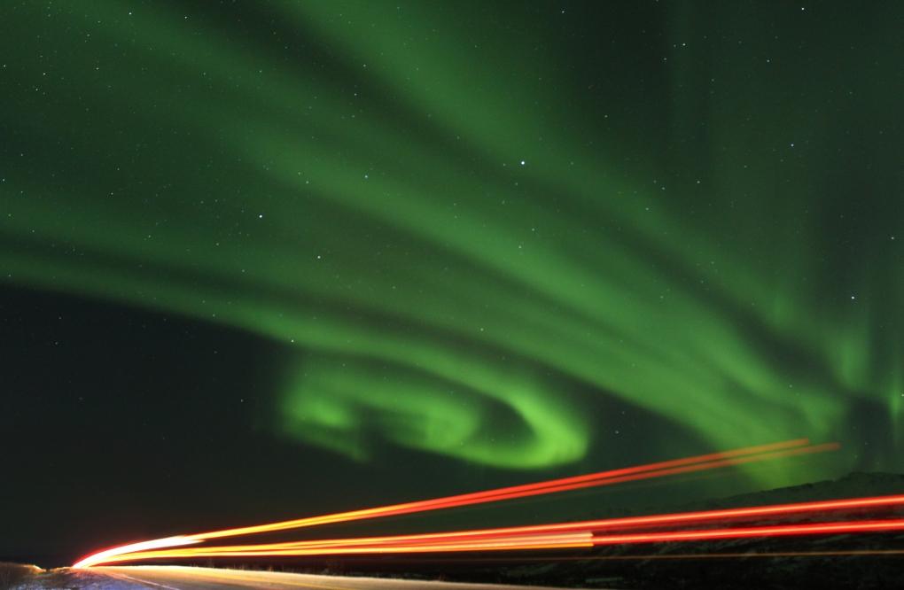 Northern Lights by Tim Clark