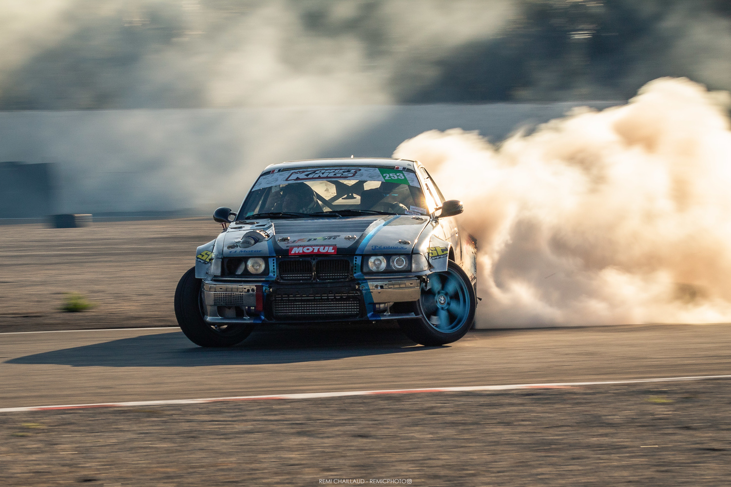 BMW E36 - Training session for the French Drifting Championship by Rémi Chaillaud