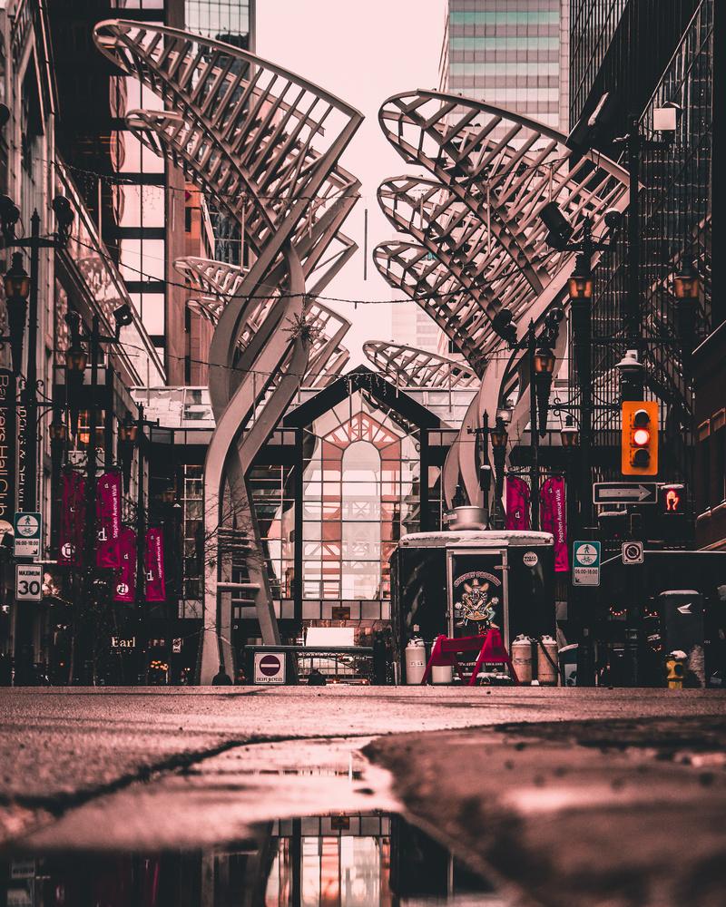 Urban View by A B