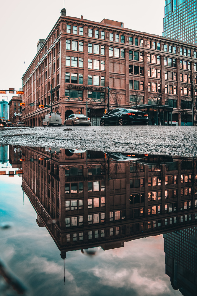 Urban Reflection by A B