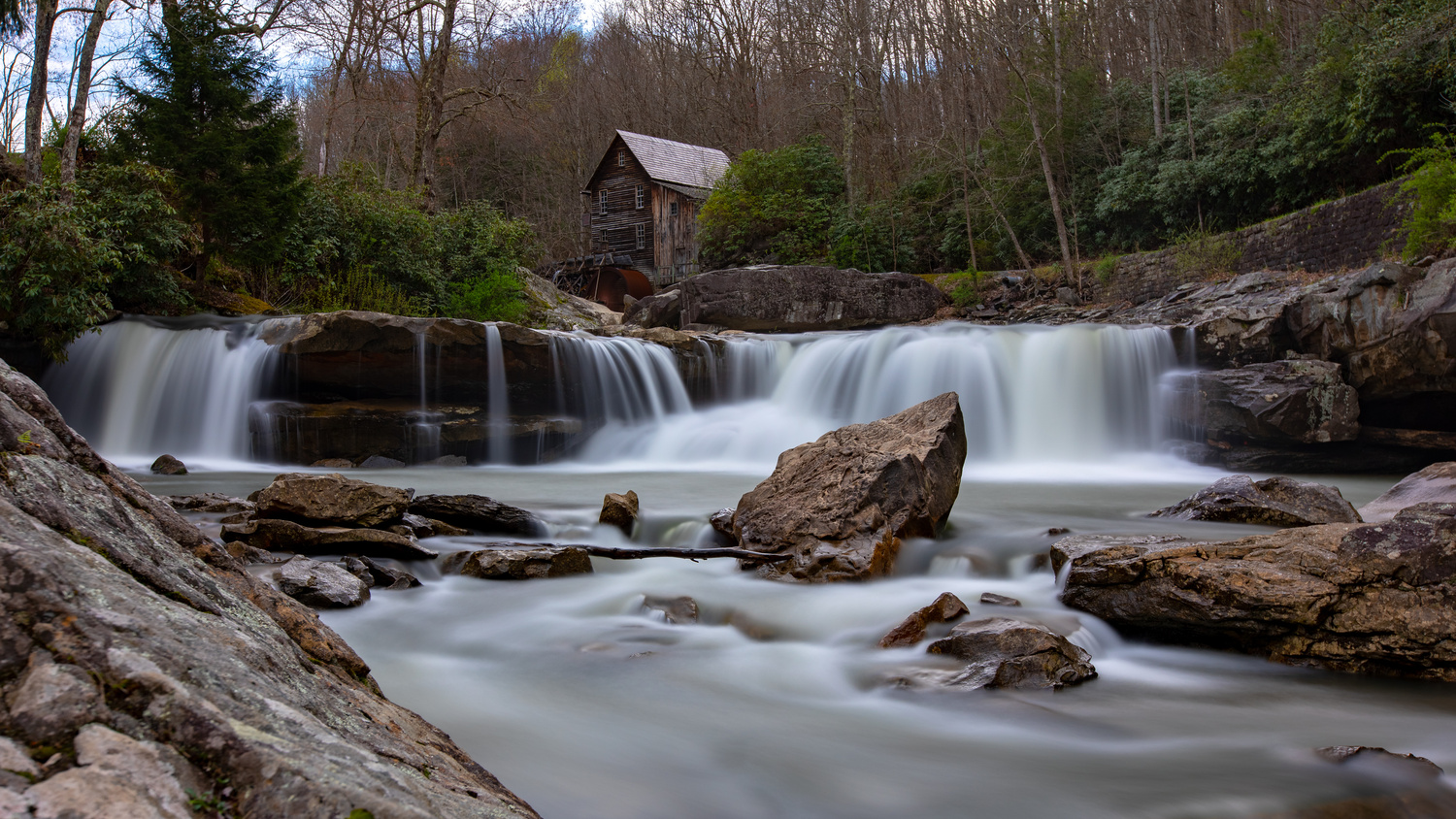 Old Mill and the River by Patrick Zeller