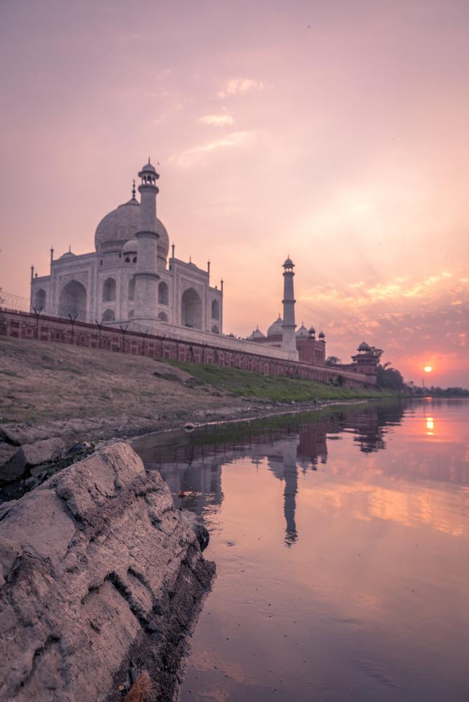 Taj Sunset by Nils Heininger