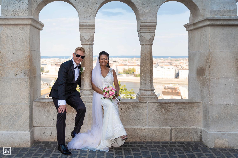Wedding in Budapest by BERNARD THOMAS