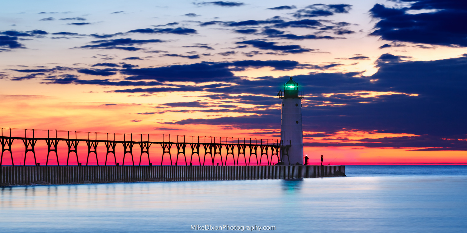 Beginning April in Manistee by Mike Dixon