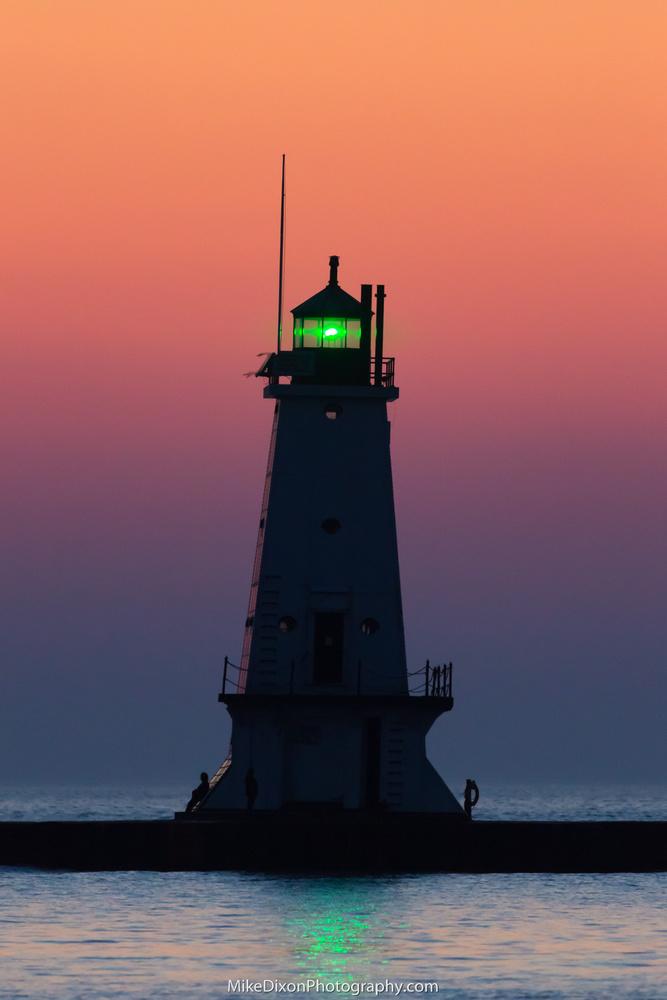 Ludington Afterglow by Mike Dixon