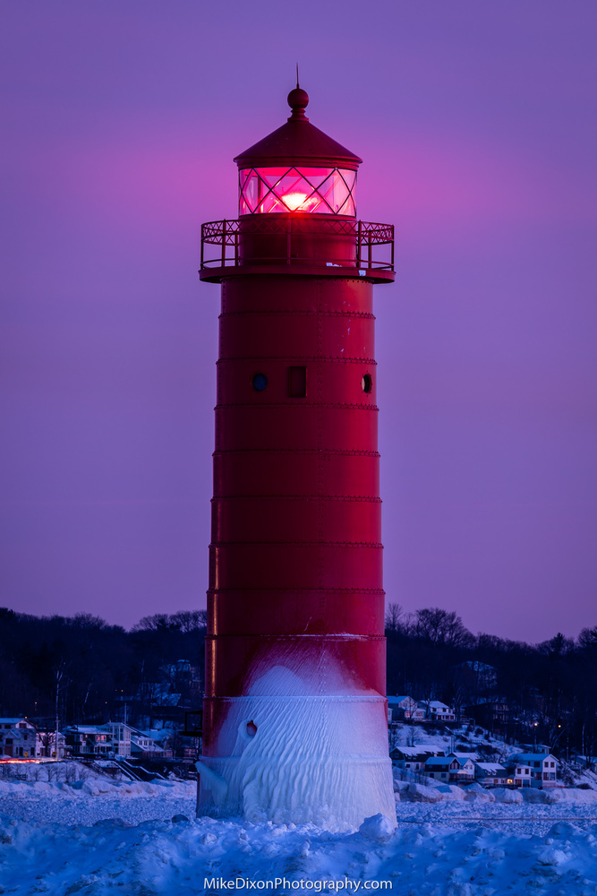 Blue Hour Beacon by Mike Dixon