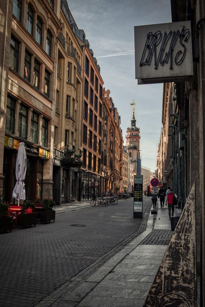 Nikolaistrasse, Leipzig by Thomas Gehrke