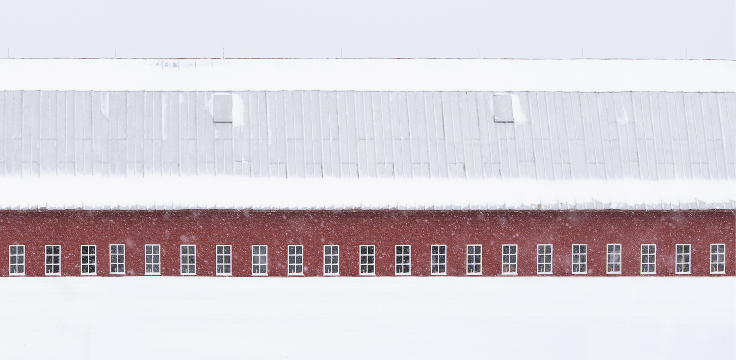 Vermont barn by Alan Brown