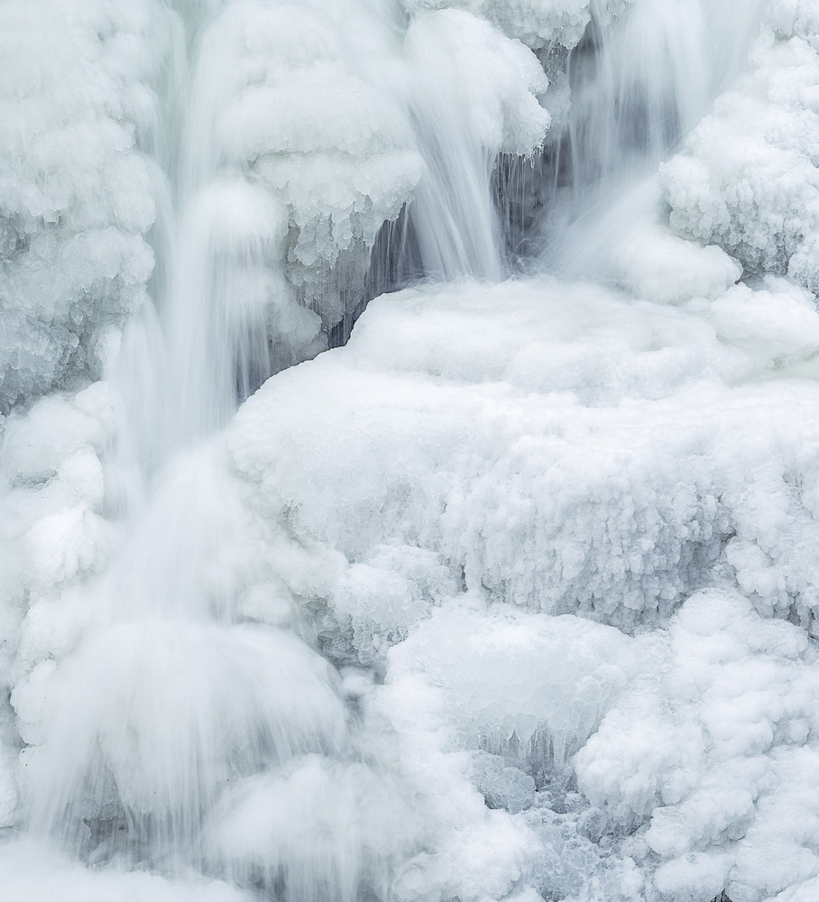 ice flow by Alan Brown