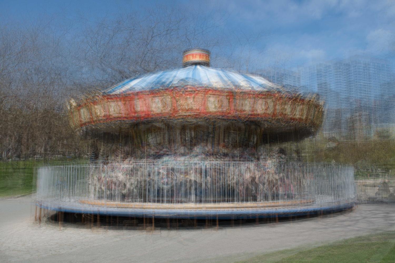 City park carousel by Alan Brown