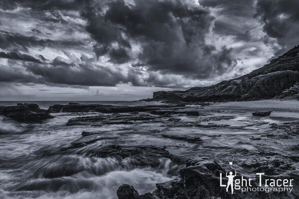 sandy's beach oahu by lopaka holmberg