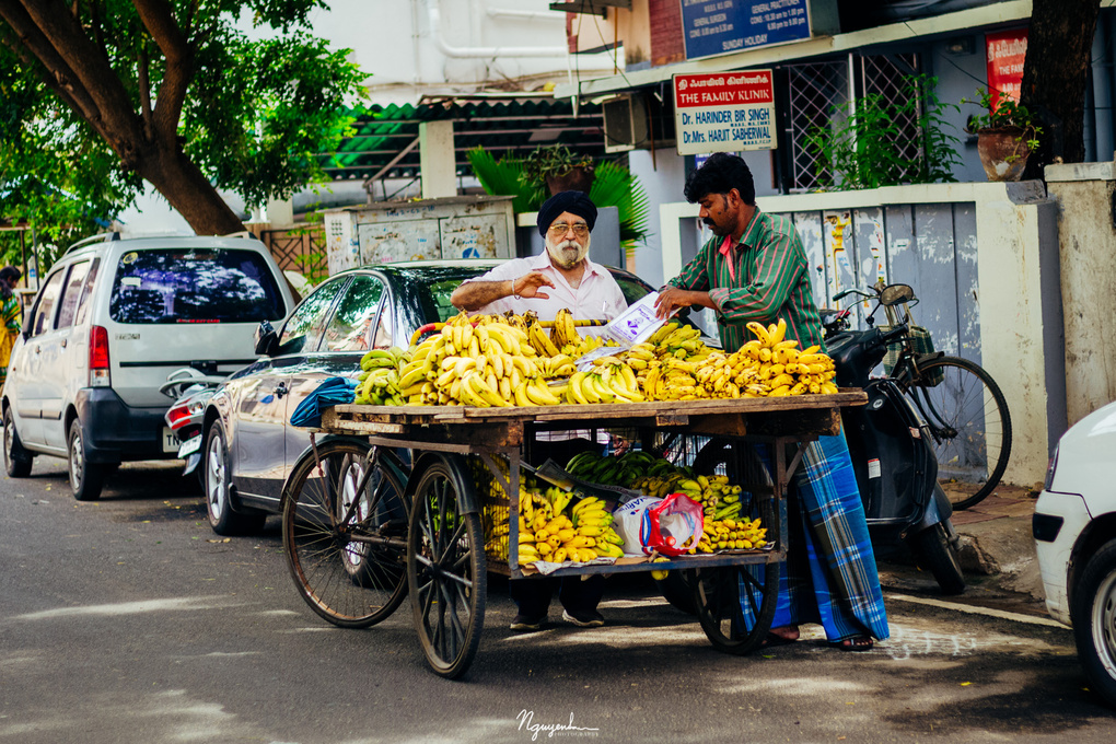 Street of Chennai, India (photo 1) by San Nguyen