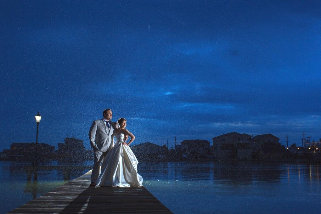 Rainy Wedding by Vanessa Joy