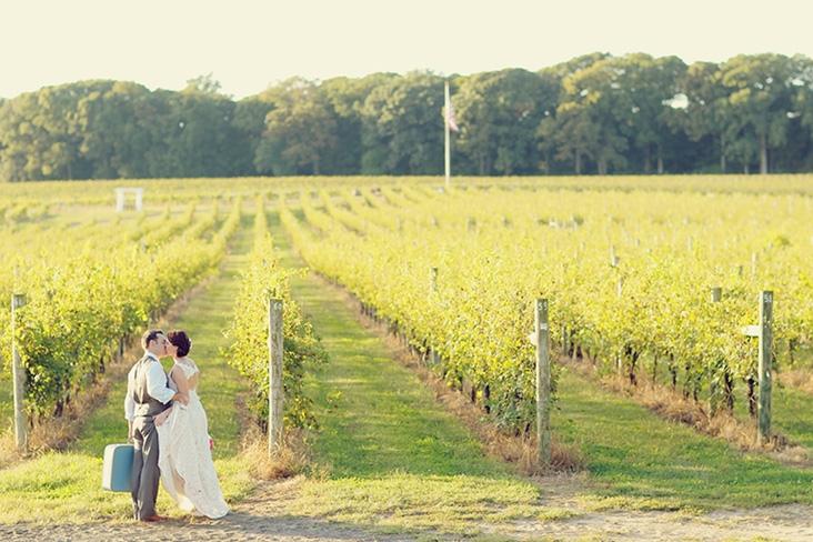 Vineyard Wedding by Vanessa Joy