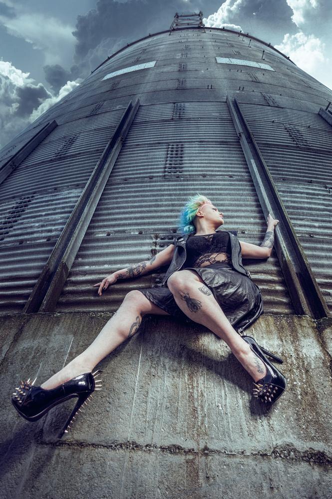 Liz silo by Terry Hammond