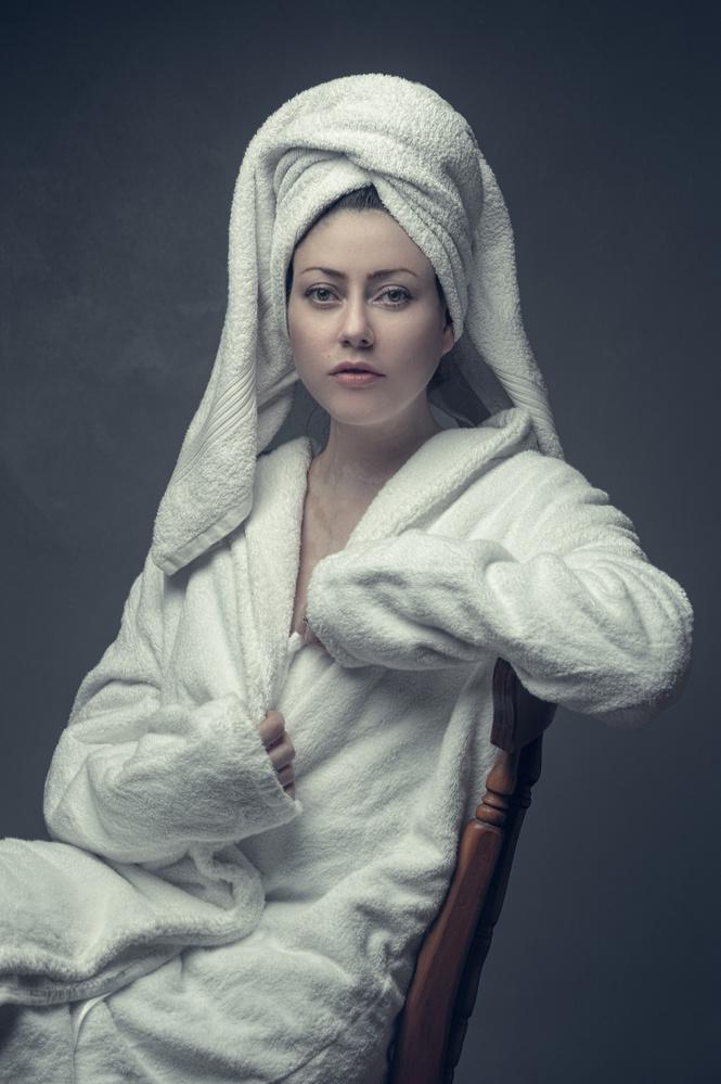 Nikita robe by Terry Hammond