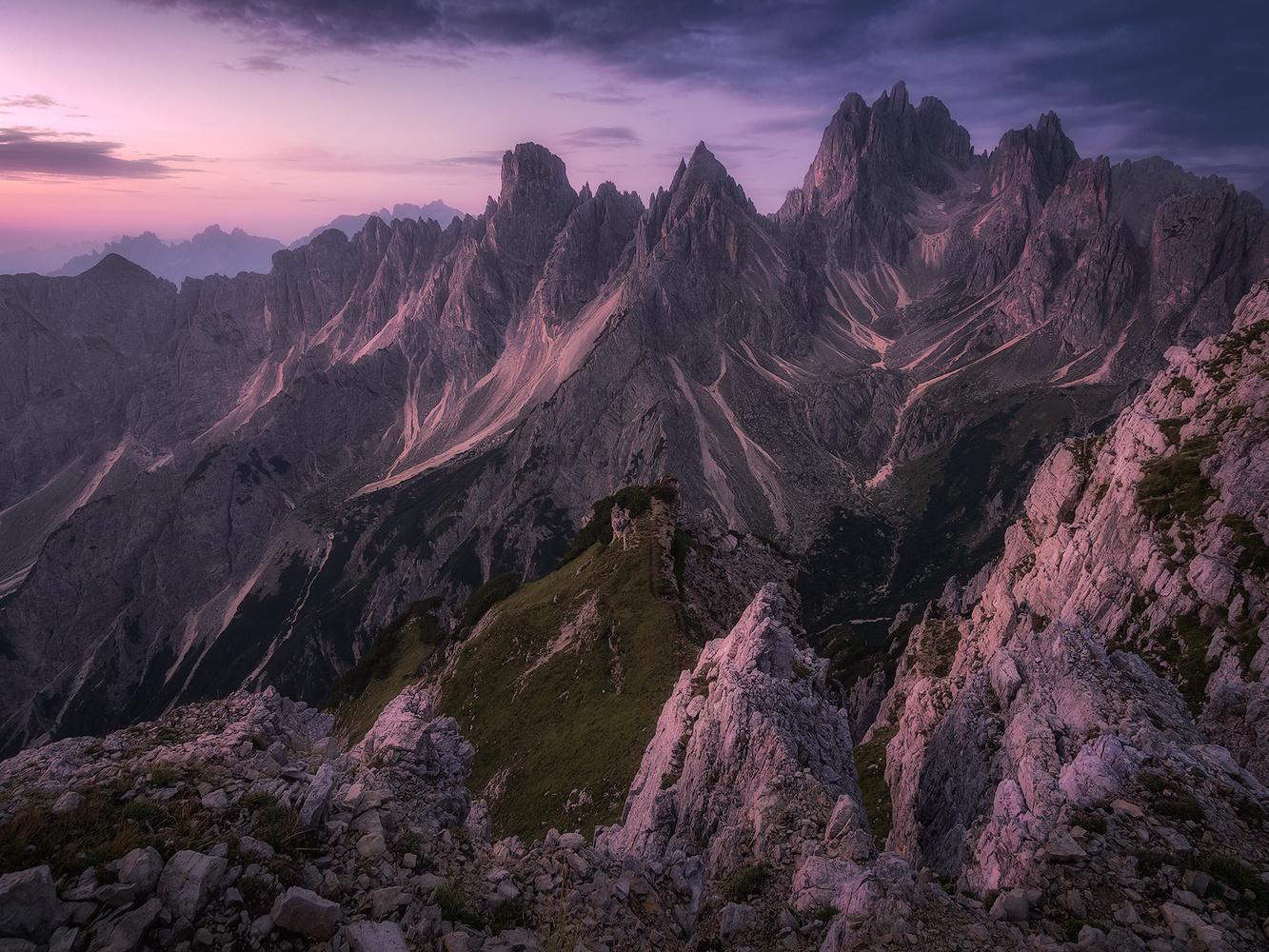 Cadini sunrise by Michele Buttazzoni