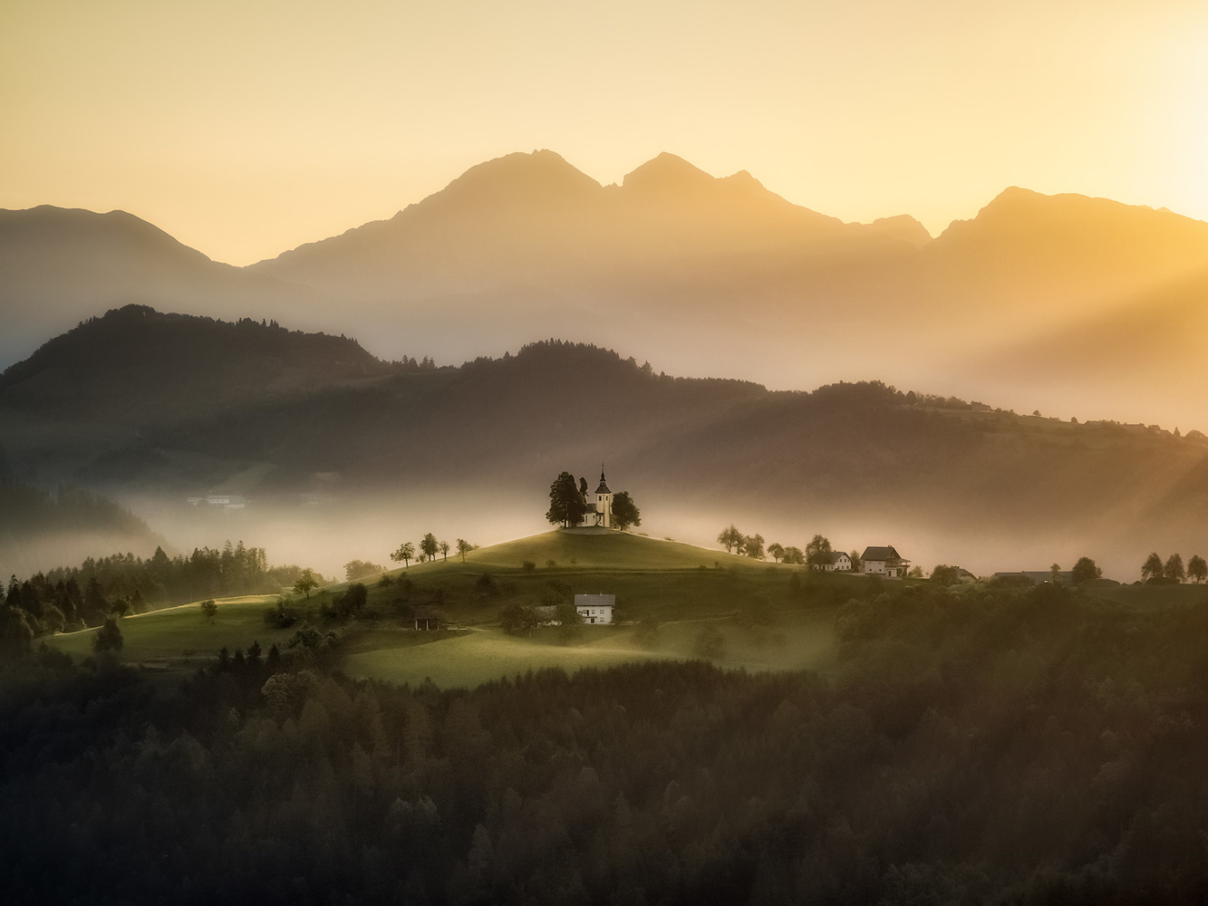 The golden hour by Michele Buttazzoni