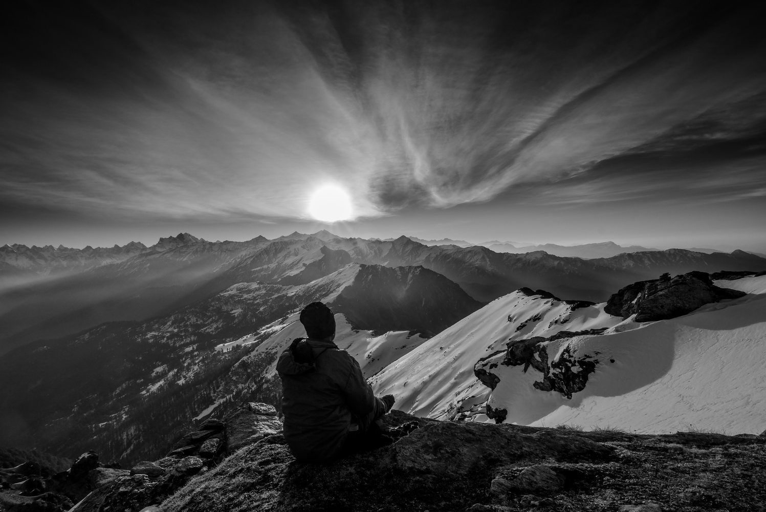 The Himalayan Sunrise by Anirban Bose
