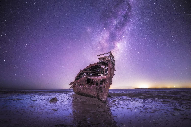 Janie Seddon Shipwreck by Léo Fontanel
