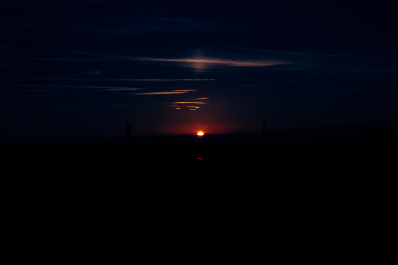 sun drop dark by Olen Hogenson