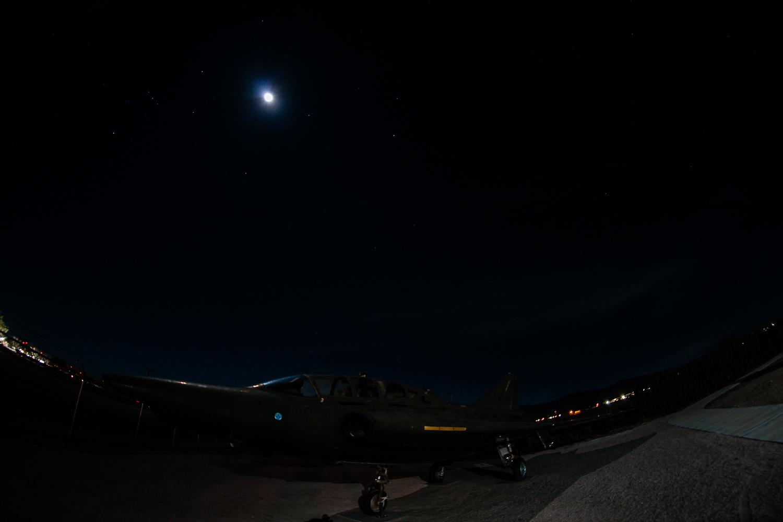 jet black moon by Olen Hogenson