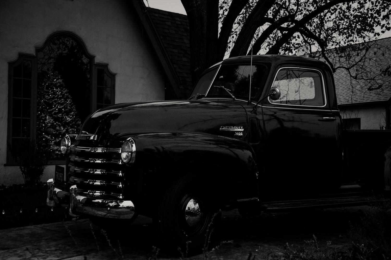 classic truck by Olen Hogenson