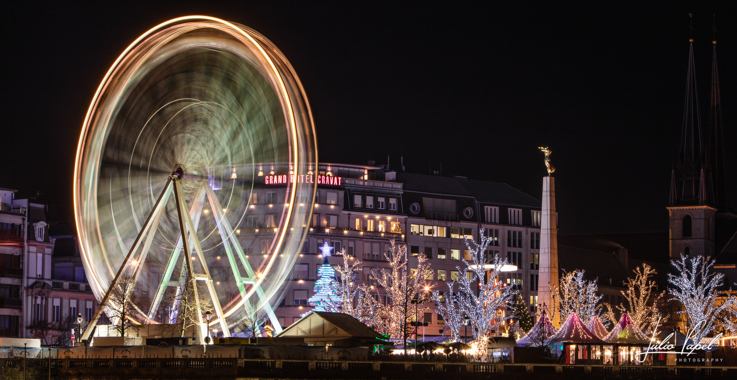 Luxembourg Xmas at High Speed by Júlio Papel
