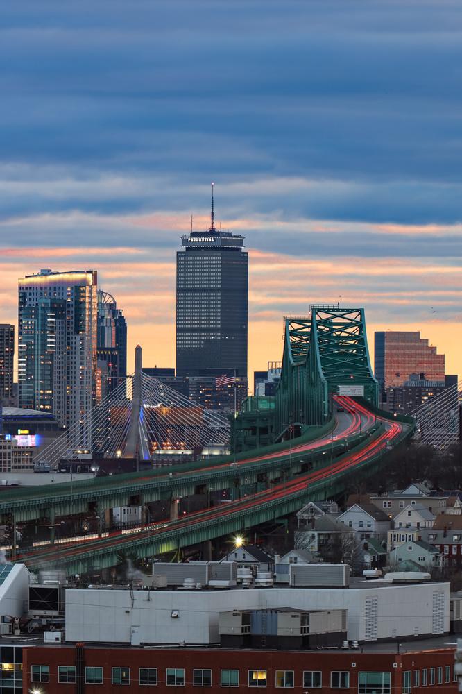 The Boston Bridges by Steve Shannon