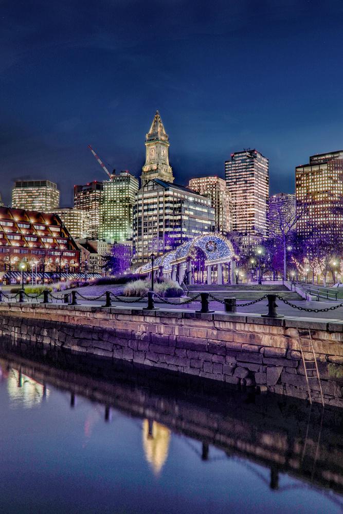 Boston Long Wharf by Steve Shannon