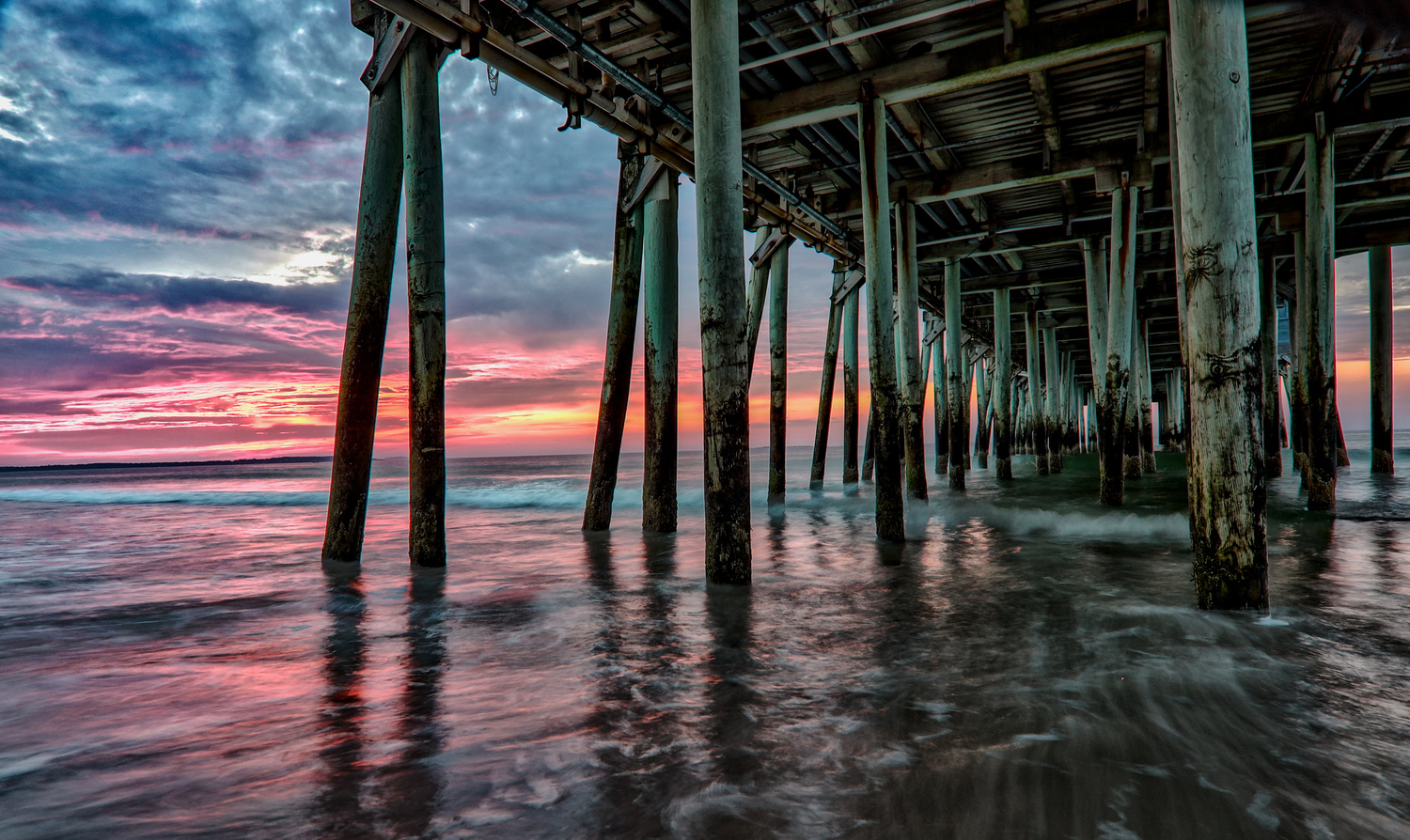 Under the OOB Pier by Steve Shannon