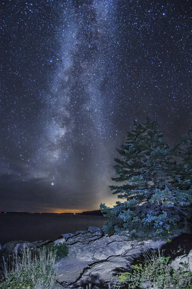Cold Night in September by Steve Shannon