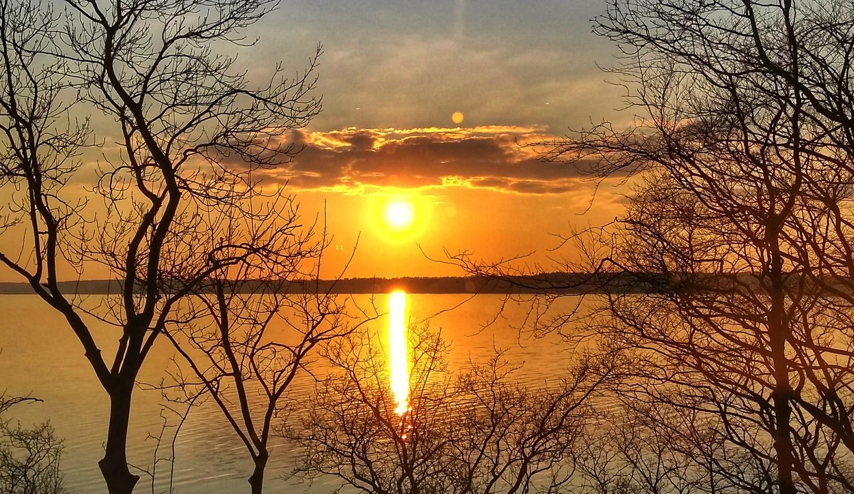 Framed sunset by Jack Sprog